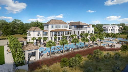 Kiawah River's Spring House building